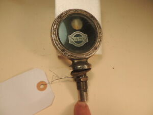1920's 1930's Nash Boyce Motometer, Temperature Gauge, Vintage Antique