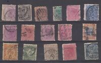 New Zealand QV Unchecked Collection Of 15 Fine Used JK205
