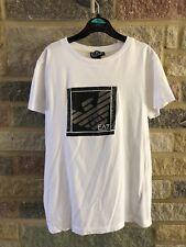 Girls White Armani T-Shirt Age 12a