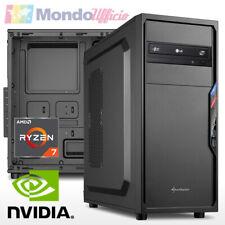 PC Computer AMD RYZEN 7 2700 8 CORE - Ram 8 GB DDR4 - USB 3.1 - Card Reader