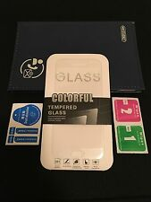 Samsung Galaxy s7 Full Cover Colorful Premium Tempered Glass Screen Protector