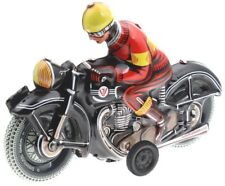 Wilesco 10588 Blechspielzeug Motorrad schwarz