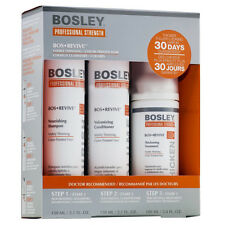 BOSLEY REVIVE SHAMPOO, CONDITIONER, THICKENING TREATMENT FOR COLOR STARTER KIT