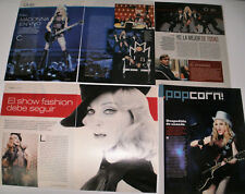 MADONNA 25 CLIPPINGS IN SPANISH - ARGENTINA ULTRA RARE! FANTASTIC!