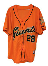Majestic L/XL Buster Posey San Francisco Giants Baseball Jersey Stitched Sewn ⚾️