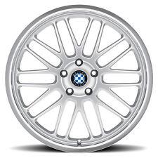 """17"""" Silver Beyern Mesh Wheels Rims 5x120 BMW 3 Series E36 E46 E90 E92 335 328 (2"""