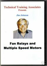 Fan Relays and Multiple Speed Motors