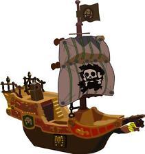 Sticker enfant Bateau pirate 27x30cm