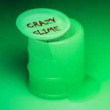 Lueur dans l'obscurité Slime-vert lumineux baril goo