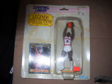 1989 Starting Lineup Legends Collection-Julius Erving  vf/nm on card