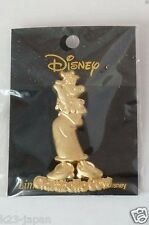 Disney JAPAN Pin Limited Edition Gold Relief Clarabelle Cow