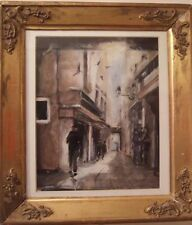 Quadro Dipinto Olio su Tela Autore Sconosciuto 19x24 Epoca 1900 ref.14