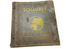 Schaubek Stamp Album Jugend-Ausgabe 1937