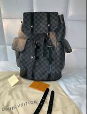 * Novo em folha * ** Louis Vuitton ** Christopher Mochila Original Autêntico ✨