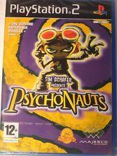 PSYCHONAUTS PLAYSTATION 2 NEUF BLISTER PSYCHONAUTS PS2 NEUF MINT