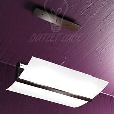 Lampada Sospensione regolabile Wood Vetro satinato curvo Wenge Top Light