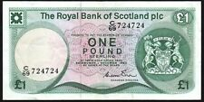 1983 ROYAL BANK OF SCOTLAND PLC £1 BANKNOTE * C/69 724724 * aVF *