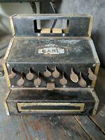 Vintage Earl Toy Cash Register 1930's Naylor Corp Chicago