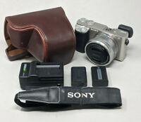 Sony Alpha A6000 24.3MP Digital Camerawith 16-50mm Lens - 753 Clicks!