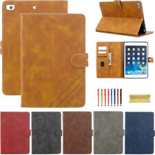 Premium Leather Wallet Card Stand Smart Case For Apple iPad 2 3 4/Mini 1 2 3 4 5