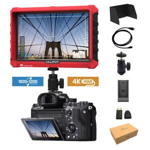 Lilliput A7s 7 Zoll 1920x1200 Camera Field Kamera Monitor 4K HDMI A7S III BMPCC
