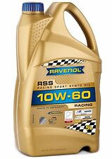 RAVENOL RSS 10W-60 Racing Motor Oil – Porsche BMW Mercedes-Benz MB 229.1 – 5L
