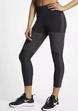 Nike Tech Pack Wmns Running Cropped Tights AQ5343-080 Grey Size M Tight Fit New