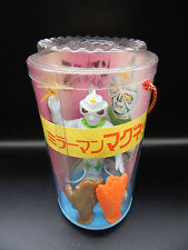 vintage Japan MIRRORMAN magnet vinyl KAIJU Japanese monster set RARE sofubi toys