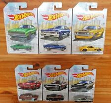 Hot Wheels 2018 DETROIT MUSCLE Complete Set of 6 - Just in from the US!