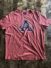 Abercrombie & Fitch Mens Orange Short Sleeved T Shirt Size 2XL NEW