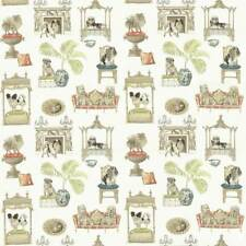 1.625 YDS P Kaufmann BEST IN SHOW Pooch BONE Home Decor Drapery Sewing Fabric