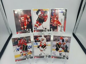 2010-11 Upper Deck Series 1 (French) - #167-172 CALGARY FLAMES Team Set MINT