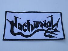 NOCTURNAL THRASH METAL EMBROIDERED PATCH