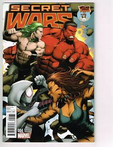 Secret Wars 4 - MILE HIGH EXCLUSIVE VARIANT - HTF RARE