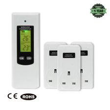 Remote Control Wireless RF Plug In Thermostat Hydroponic Greenhouse Tool Kit