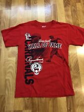 St. Louis Baseball Hall of Fame Men's Short Sleeve T Shirt, Red, Small