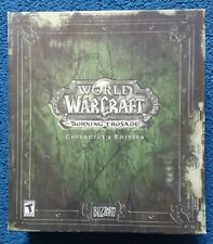 World of Warcraft Burning Crusade Collector's Edition Complete PC FANTASTIC SHAP