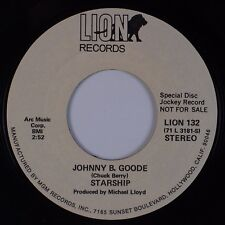 STARSHIP: Johnny B. Goode LION Micky Dolenz, Monkees RARE Promo 45 NM- Rock