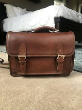 ONA Brooklyn Chestnut Brown Leather Shoulder Camera Bag with Adjustable Strap