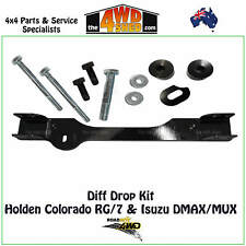 Diff Drop Kit - ISUZU DMAX MUX June 2012 - On Complete Bolt In Kit - DDCOL02