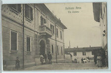 CARTOLINA 1917 SOLBIATE ARNO VIA UNIONE 35/A