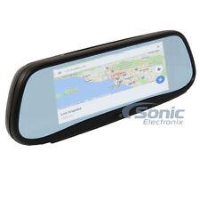 "BOYO Vision Carkuda VTG700X 7"" Rearview Mirror Monitor w/ Navigation & Dash Cam"