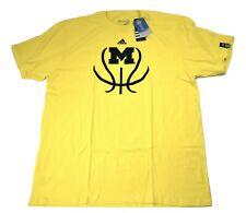 adidas Mens Michigan Wolverines Basketball Shirt NWT XL