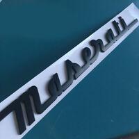 Auto Hinten Emblem Aufkleber Abziehbild Autozubehör Logo für Maserati Ghibli