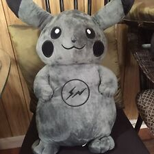 "Pokemon Black Pikachu Plush Doll 8"" Bedtime Buddy"