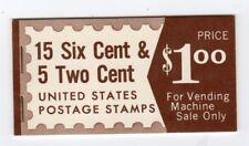 United States Us # Bk117 Complete Booklet, Mnh-Fvf - Fdr & Frank Lloyd Wright