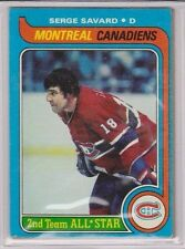 1979-80 Topps Hockey Serge Savard Montreal Canadiens Flyers #101