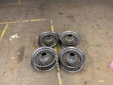 Jaguar Set Off Wire Wheels