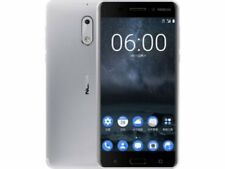 Nokia   Nokia 6 Silver 64GB 4G LTE EXPRESS SHIP Unlocked  Smartphone* incl GST