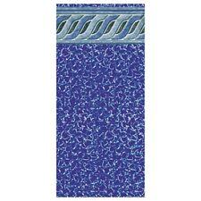 "Swimline LI152654ETU 15' x 26' x 54"" Emerald Tile Uni-bead Liner - Oval"